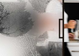 CORALLINE glass by designer Kiki van Eijk - Dark Brown profile