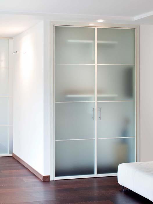 Porte a battente in alluminio vetro temadoors - Porta a doppio battente ...